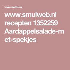 www.smulweb.nl recepten 1352259 Aardappelsalade-met-spekjes
