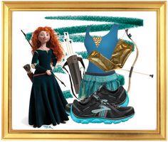 merida disney running outfits | merida-running-costume