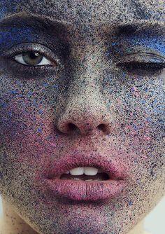 """""""Ines Garcia in """"Freckle Tastic"""" by Frauke Fischer for Push It Magazine #7 """" Pretty Girls & Bourbon"""