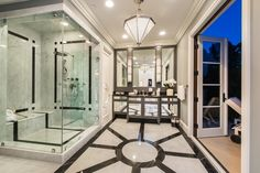 Spectacular master bathroom