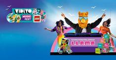 O Legoland Florida Resort anunciou um novo festival de música para toda a família, chegando ao parque apenas por um fim de semana - Lego Vidiyo Music Fest! será realizado na Labour Day Weekend - de 4 a 6 de setembro, das 11h às 18h.