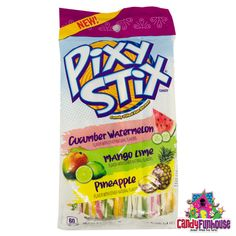 Enjoy these new Pixy Stix Candy Straws with the unique flavours of Mexican Candy. Everlasting Gobstopper, Pixy Stix, Nerds Rope, British Candy, Bubble Yum, Nostalgic Candy, Mexican Candy, Fun Dip, Online Candy Store