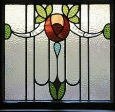 Art Deco Stained Glass (((  this is the one I'm interested in   )))