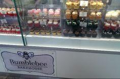 Cupcakes at Bumblebee Bakehouse Silverburn #GrouponGuide #Glasgow