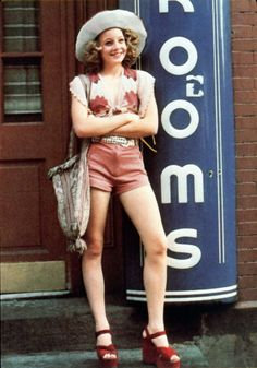 Jodie Foster as Iris on The Taxi Driver
