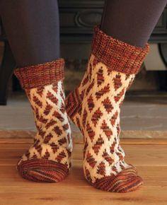 Weaver Socks by Fredrica Patmore in Rowan Fine Art (http://www.mcadirect.com/shop/rowan-fine-art-100g-hank-p-5571.html) and Pure Wool 4 Ply (http://www.mcadirect.com/shop/rowan-pure-wool-ply-p-2242.html)