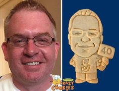 40th Birthday - Parties - Cookies - Favors - Portraits