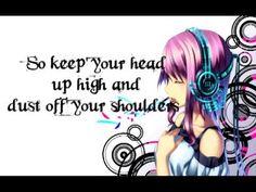 Nightcore - headphones - lyrics (Originally by Britt Nicole)