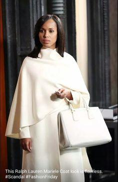 Oliva Pope Ralph Lauren Mariele Coat....YASSS HUNEY....YASSSS