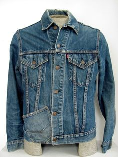 Type III Levis denim jacket 1970s Big E mens medium