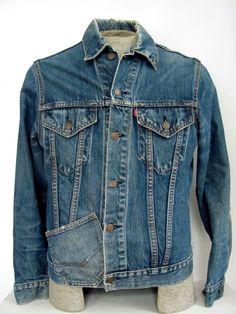 Type III Levis denim jacket 1970s Big E mens medium