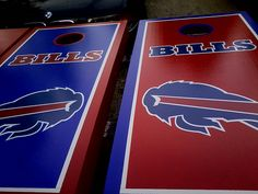 Buffalo bills cornhole boards