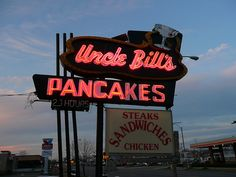 St Louis, Missouri.  the best pancakes!  One of our favorite late night stops...