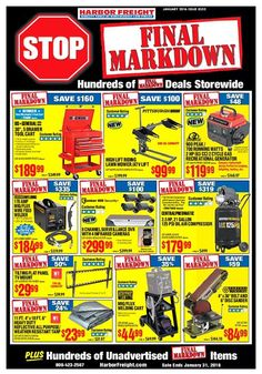 harbor freight tools on pinterest tools hand tools and coupon. Black Bedroom Furniture Sets. Home Design Ideas