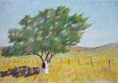 Altarcito-lapiz color-25 x 35
