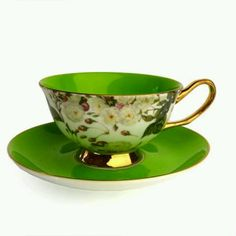 It's the Shelley tea cup! And it has a yellow friend.