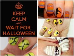 Halloween Nails  #diyhalloweennails #diynails