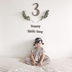 Birthday Girl Pictures, 1st Birthday Party For Girls, First Birthday Photos, Baby First Birthday, Baby Party, Simple Birthday Decorations, Minne, Infant Christmas Photos, Christmas Photo Shoot