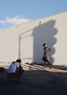 & Other Stories | Capturing photographer Harley Weir at the shoot of our Rodarte co-lab collection (available March 17).