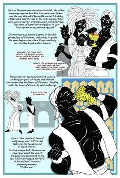 """Lance Tooks illustrated """"The Black Panthers for Beginners"""" and wrote the graphic novel """"Narcissa""""."""