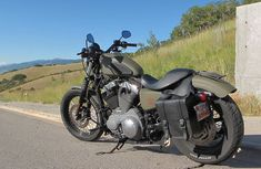 2009 Harley Davidson Nightster Bobber Motorcycle in Military OD Green