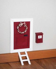kuva Nature Decor, Christmas Inspiration, Elf On The Shelf, Merry Christmas, Barn, Shelves, Doors, Holiday Decor, Frame