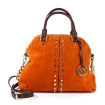 Michael Kors Uptown Astor Handbag Purse Tote Persimmon  From Michael Kors  List Price:$448.00  Price:$309.95  #michael kors