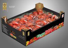 Projekt kartonu na pomidory premium - 7kg