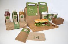 Green & Co - Vegan Restaurant by Paola Itikawa, via Behance