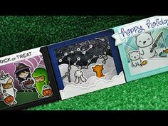 Intro to Shadow Box Card + 3 cards from start to finish - YouTube