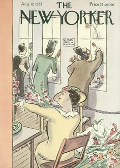 The New Yorker - Saturday, August 12, 1933 - Issue # 443 - Vol. 9 - N° 2 - Cover…