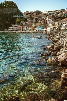 Parga, Greece. Follow us @SIGNATUREBRIDE on Twitter and on FACEBOOK @ SIGNATURE BRIDE MAGAZINE