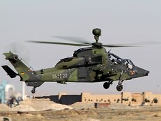 German Army Eurocopter Tiger in Afghanistan.