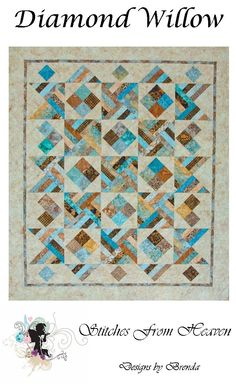 Diamond Willow quilt pattern