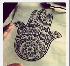 this represents the hand of God,  meaning his hand will protect us always