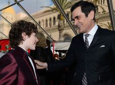 Nolan Gould and Ty Burrell at the 2013 SAG Awards