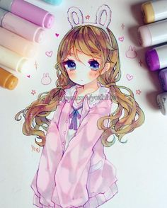 """29.5k Likes, 113 Comments - Yoai / Anny ⊂((・▽・))⊃ (@yoaihime) on Instagram: """"Thinking of doing some digital art again , and also I need new art supplies but it's too cold for…"""""""