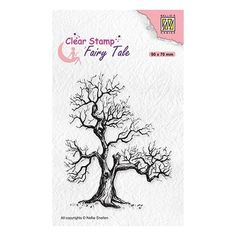 Tampon clear transparent scrapbooking Nellie Snellen ARBRE BRANCHE 018 Tampons Transparents, Tales Series, Shops, Scrapbooking, Winter Cards, Simon Says Stamp, Magical Creatures, The Elf, Clear Stamps