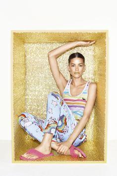 #peteralexander #rainbow #pyjamas #gold