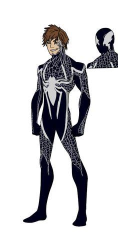 with great power. by shorterazer Spiderman Drawing, Spiderman Art, Amazing Spiderman, Marvel Comic Character, Marvel Characters, Marvel Art, Marvel Comics, Spiderman Black Suit, Venom Art