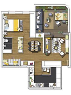Casa pequeña planos