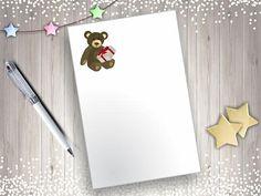 Teddy Bear Clip Art Cute Teddybear Clipart Printable Teddy Teddybear, Your Cards, Clip Art, Printables, Unique Jewelry, Handmade Gifts, Cute, Inspiration, Etsy