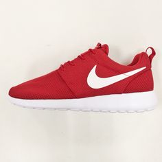 cheaper 55371 13955 Nike Roshe One Run Rosherun Red White NSW Mens Running Shoes Sneakers 511881 -612