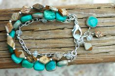 Hey, I found this really awesome Etsy listing at https://www.etsy.com/listing/238583145/sitting-by-the-sea-triple-strand
