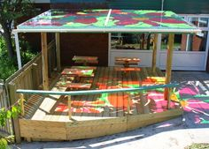 Click below to see what we can offer you. Canopies and Outdoor Classrooms Infinite Playgrounds are leading canopy specialists custom-building colourful canopies and outdoor classrooms that radiate colour and light in schools, play areas, parks and public places, letting the sun in and keeping the weather out.  We catch the light to transform dark corners. …