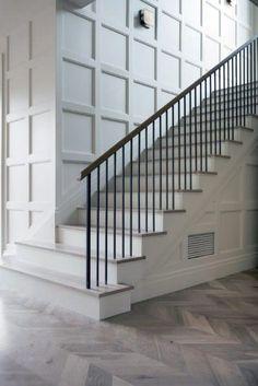 Interior Designs Stair Trims Stairs Trim, Staircase Railings, Staircase Design, Stairways, Staircase Molding, Moulding, Modern Railings For Stairs, Staircase Walls, Stairway Wainscoting