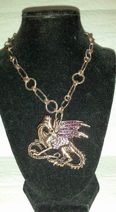 Dragon Necklace $30.00