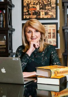 Arianna Huffington (née Stasinopoúlou; born Αριάδνη-Άννα Στασινοπούλου, July 15, 1950) is a Greek-American author, syndicated columnist, and occasional actress. She is the co-founder and editor-in-chief of The Huffington Post