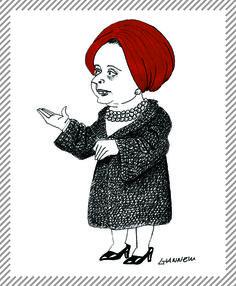 Elvira Leonardi Bouyeure, 1906 - 1999, sarta italiana. Tra gli anni '50 e i '60 nel suo atelier milanese gravitarono le maggiori personalità del mondo della cultura, dello spettacolo e della finanza. Fu l'artefice della trasformazione di Maria Callas. #AlbumMilano #moda #Biki