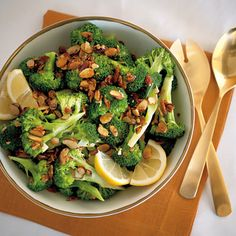 Lemon broccoli--my mother-in-law used to make this & I loved it!